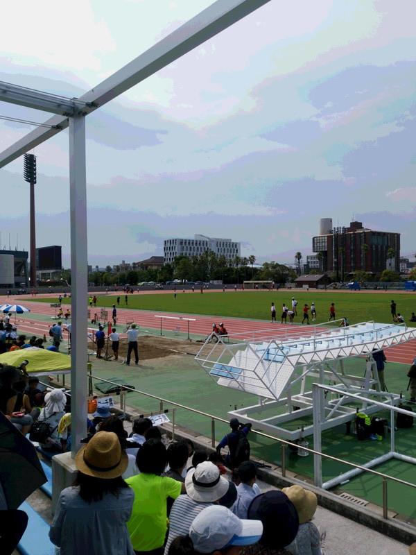 県総体陸上競技