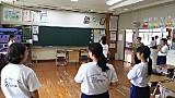応援団練習